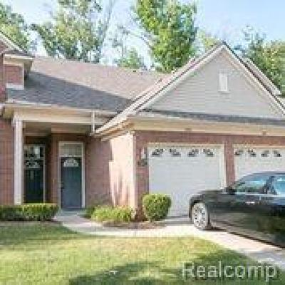 Shelby Twp Condo/Townhouse For Sale: 3491 Eagle Creek Dr