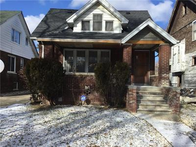 Detroit Single Family Home For Sale: 10987 Wilshire Dr