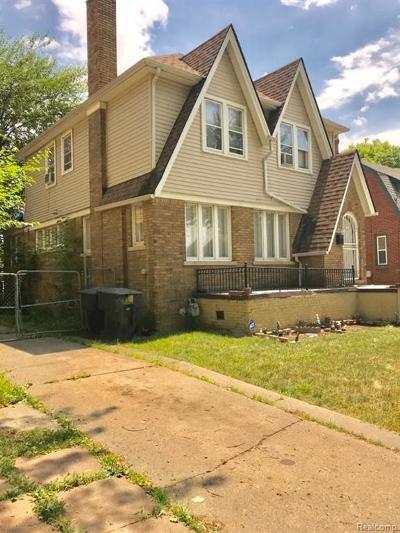 Detroit Single Family Home For Sale: 4134 Haverhill St