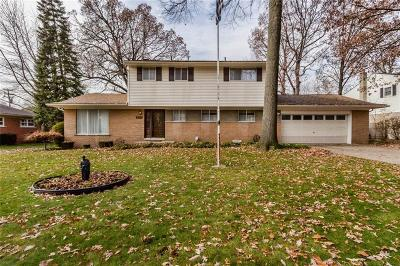 Dearborn Heights Single Family Home For Sale: 5923 Rosetta St