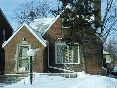 Detroit Single Family Home For Sale: 16207 Ward