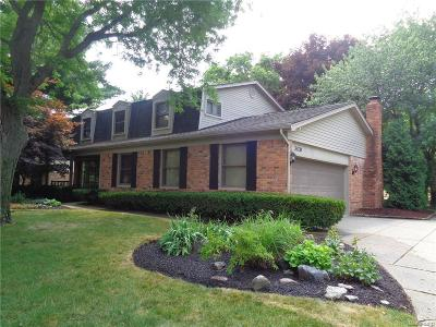 Farmington Hills Single Family Home For Sale: 35239 Northmont Dr
