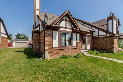 Dearborn Single Family Home For Sale: 6430 Chase Rd