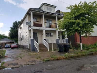 Detroit Multi Family Home For Sale: 6399 Cymbal St