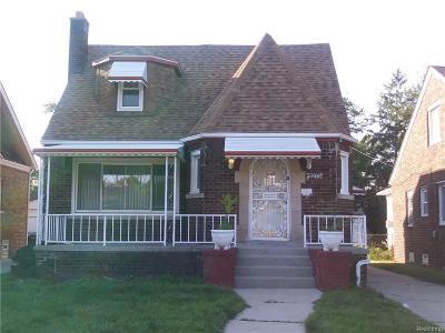 Detroit Single Family Home For Sale: 11273 Engleside St