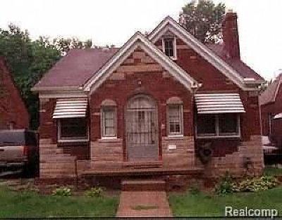 Detroit Single Family Home For Sale: 15901 Coyle St