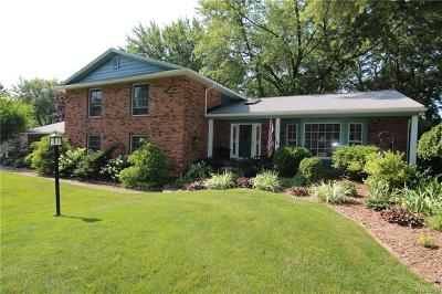 Troy Single Family Home For Sale: 2729 Red Fox Trl