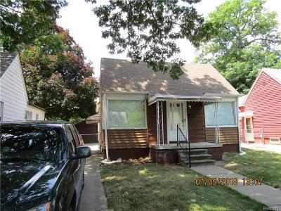 Dearborn Heights Single Family Home For Sale: 4458 Westpoint St