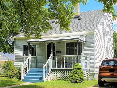 Dearborn Heights Single Family Home For Sale: 5744 Kingsbury St