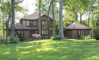 Clarkston Single Family Home For Sale: 7120 Deer Lake Crt