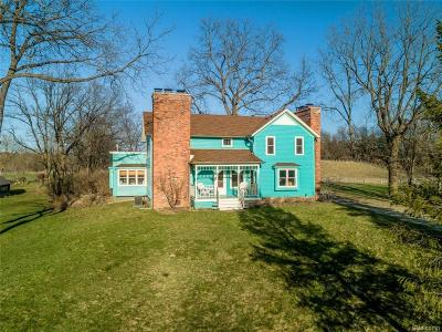 Lapeer Single Family Home For Sale: 3725 Wilder Rd