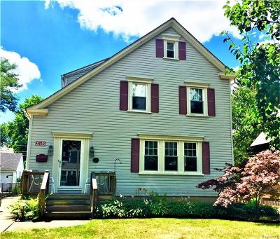 Dearborn Single Family Home For Sale: 22455 Edison St