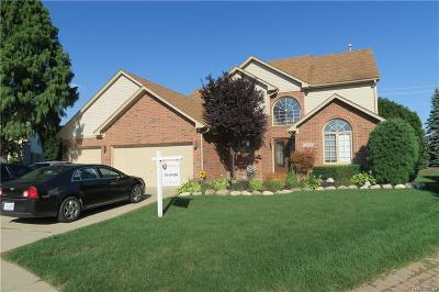 Sterling Heights Single Family Home For Sale: 15167 Sylvia Crt