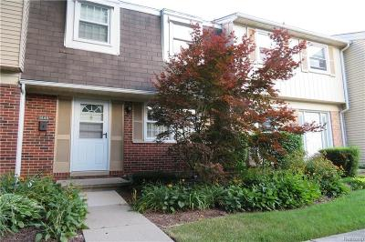 Troy Condo/Townhouse For Sale: 1446 Brentwood Dr