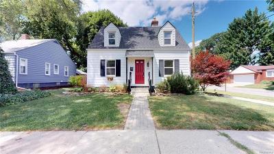 Ferndale Single Family Home For Sale: 275 E Hazelhurst St