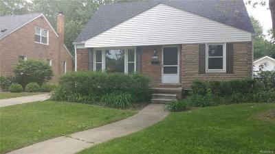 Royal Oak Single Family Home For Sale: 2514 N Vermont Ave