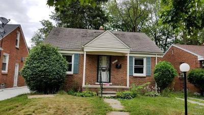 Detroit Single Family Home For Sale: 14660 Archdale St