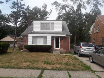 Detroit Single Family Home For Sale: 17603 Meyers Rd