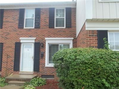 Sterling Heights Condo/Townhouse For Sale: 36506 Park Place Dr