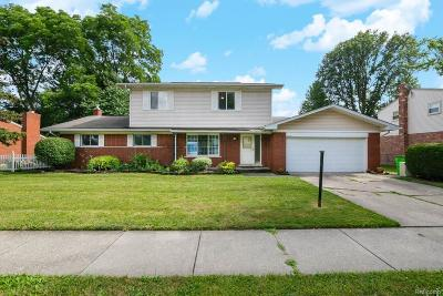 Clinton Township Single Family Home For Sale: 23576 King Dr