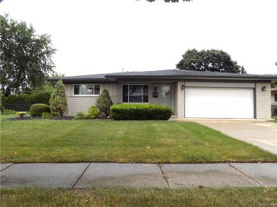 Sterling Heights MI Single Family Home For Sale: $225,000