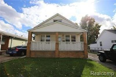 Warren MI Single Family Home For Sale: $84,900