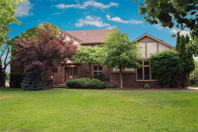 Rochester Single Family Home For Sale: 3162 Glengrove Dr