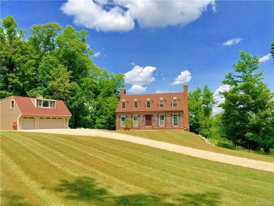 Lapeer Single Family Home For Sale: 3163 Rock Valley Rd