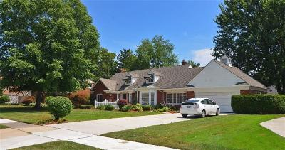 Grosse Pointe Woods Single Family Home For Sale: 19700 Blossom Ln