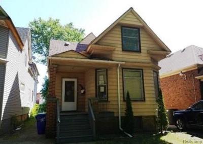 Detroit Single Family Home For Sale: 4106 Clippert St