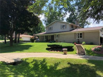 Clarkston Single Family Home For Sale: 6875 Balmoral Ter