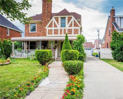 Dearborn Single Family Home For Sale: 6649 Oakman Blvd