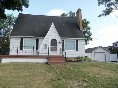 Lapeer Single Family Home For Sale: 238 E Nepessing St