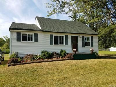 Belleville Single Family Home For Sale: 44429 Tyler Road
