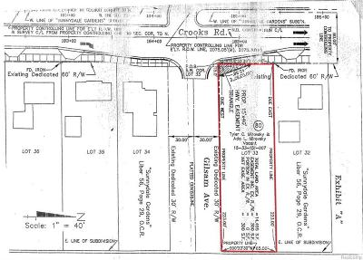 Residential Lots & Land For Sale: Crooks