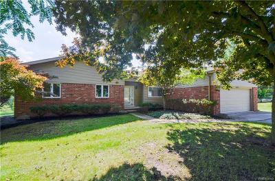 Farmington Single Family Home For Sale: 36242 Smithfield Rd