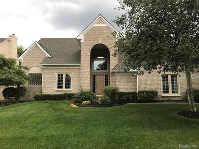 Farmington Hills Single Family Home For Sale: 37899 McKenzie Crt
