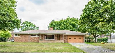 Dearborn Single Family Home For Sale: 7640 Esper Blvd