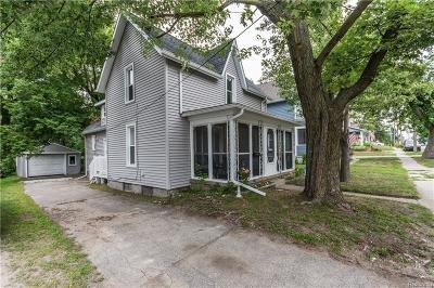 Lake Orion Single Family Home For Sale: 137 N Lapeer St