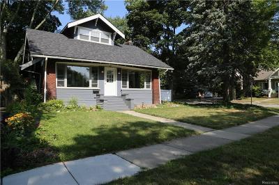 Birmingham Single Family Home For Sale: 187 N Adams Rd