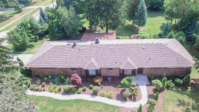 Utica Single Family Home For Sale: 45546 Engel Dr
