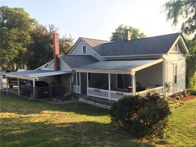 Lapeer Single Family Home For Sale: 4043 Pleasant St