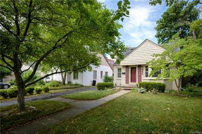 Birmingham Single Family Home For Sale: 1726 S Bates St
