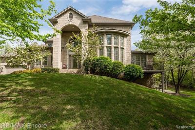 Clarkston Condo/Townhouse For Sale: 6482 Enclave Dr