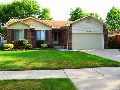 Dearborn Heights Single Family Home For Sale: 25134 Ann Arbor Trl