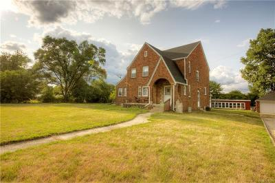 Plymouth Single Family Home For Sale: 39866 Joy Rd
