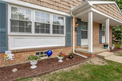 Northville Condo/Townhouse For Sale: 41312 Lehigh Ln