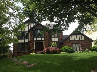 Farmington Hills Single Family Home For Sale: 39093 Kennedy Dr