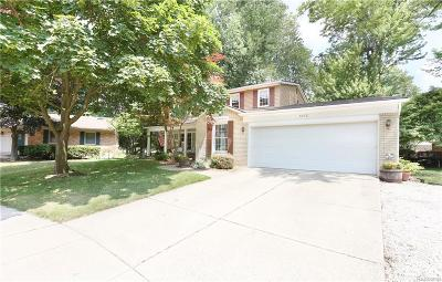 Troy Single Family Home For Sale: 6952 Northpoint Dr