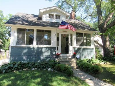 Royal Oak Single Family Home For Sale: 1036 N Maple Ave